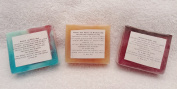 Handmade Natural Organic Soap; Lavender, Shea Butter, Ice & Fire