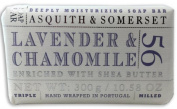 Asquith & Somerset Lavender & Chamomile Soap Bar - 300g