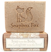 Oatmeal Milk & Honey - Soothing Goat Milk Bar Soap Made With Colloidal Oatmeal, Rice Bran, & Manuka Honey - 100% Natural & Organic Handmade Soap - BIG 180ml Bar For Face & Body - For Sensitive Skin