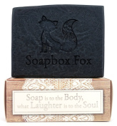 Instant Sex Appeal - Skin Detox - Activated Charcoal Soap - Anti-Ageing & Acne Fighting - 100% Natural & Organic Handmade Bar Soap For Face & Body - BIG 180ml Bars