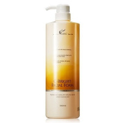 AHC C-BRIGHT FACIAL FOAM 1000ML (33.8 OZ), Moisture Cleansing for Dried & Sensitive Skin, and Brightens Dull, Spotty Skin