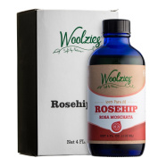 Woolzies 100% pure natural Rosehip oil, moisturiser for skin & hair