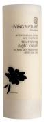 Natural Night Cream, Restores Elastin & Collagen, Increases Hyaluronic Acid for Younger Firmer Skin