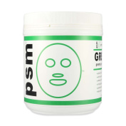 psm GREEN TEA Premium Modelling Algae Peel Off Facial Mask Powder for Professional Skin Care 520ml