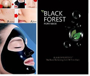 Black Forest Spa® Acne Blackhead Killer Anti Acne Facial Mask Peel Off Mask 10pcs Pack 10x6ml
