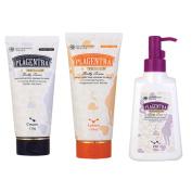 Korea Plagentra Belly Series Cream 120 G Lotion 150 Ml Oil 150 Ml Set Improvement Preventing Anti Stretch Marks Pregnant Women Diet Girls Body Skin Care