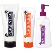 Korea Plagentra Mother Series Cream 200 G Lotion 150 Ml Oil 150 Ml Set Preventing Anti Stretch Marks Pregnant Women Diet Girls Body Skin Care