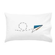 Oh, Susannah Paper Aeroplane Toddler Size Pillowcase