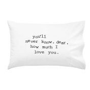Oh, Susannah You'll Never Know, Dear, How Much I Love You Toddler Size Pillowcase