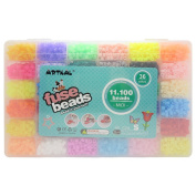 11,100pcs artkal fuse beads in a storage box 36 colours S-5mm iron beads educational toys