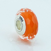 925 Sterling Silver Fascinating Orange
