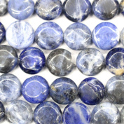 Fashiontrenda Natural Colour Coin 12mm Gemstones Loose Beads Findings DIY Jewerlry Making