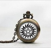 Supernatural Sam Pendant Pocket Watch ,Supernatural Sam Necklace Pocket Watch Charm, Supernatural Sam Pendant Pocket Watch Glass Tile Jewellery,glass Supernatural Watch,supernatural Photo