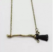 Necklace, Beautiful Broom Necklace of Harry's Firebolt