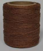 Maine Thread - .90cm Goldbrown Waxed Polycord. 60m each. Includes 2 spools.