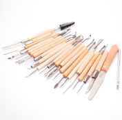 22PCS Clay Sculpture Hobby Tools : NEW Pottery Sculpting Carving Modelling Ceramic