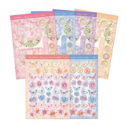 Hunkydory Butterfly Bouquet Butterfly Gardem Premium Cards Card Kit