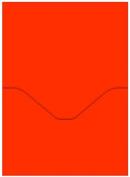 Orange, Red Pocket Card - 5 x 7 - Colours Matt Cayenne, 25 pack