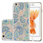 iPhone 6 6s Plus 14cm Case, OneCase Cyan Paisley Totem Series TPU Soft Back Cover Protective Case for iPhone 6s Plus /iPhone 6 Plus