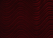 WAVE SWIRL FLOCKING VELVET UPHOLSTERY FABRIC 150cm 19 colour SOLD BY THE YARD
