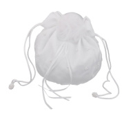 FENICAL Bridal handbag Bridesmaid Handbag Satin Flower Pearl Decorated For Wedding