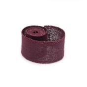 LEORX 2M Jute Burlap Ribbon Roll for Decoration