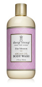 Deep Steep Lilac Blossom Argan Oil Body Wash - Made with Organic Argan Oil, Organic Shea Butter, and 100% All Natural Ingredients - Vegan, Non-GMO, Gluten Free, and Cruelty Free, 500ml Bottle