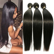 Uneed Hair Unprocessed Brazilian Stright Virgin Hair 3 Bundles Remy Brazilian Sexy Stright Weave Human Hair Extensions