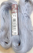 FLOCHE-DMC COTON FLOCHE A BRODER-colour-318-grey