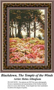 Blackdown, The Temple of the Winds, Fine Art Counted Cross Stitch Pattern