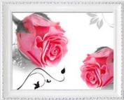 YGS-142 DIY 5D Diamonds Embroidery 3 different rose pictures Round Diamond Painting Cross Stitch Kits Diamond Mosaic Home Décor