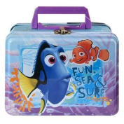 Finding Dory Large Rectangle Tin Box With Plastic Handle & Clasp