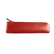 Gouptec Small Pencil Case - Microfiber Leathe Hand-Made