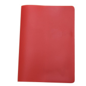 Crqes 1 Pcs Red Silicone ID Card Credit Card Passport Holder Cover Protective Cover Case