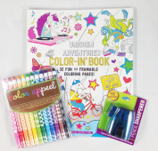 Colouring Book Bundle - 3 Items
