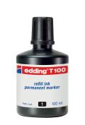 Edding Refill Ink Black T100
