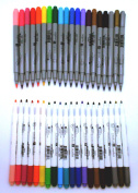 40 Marker Pen Bundle Set - Fine Tip and Bullet Point - Hampton Art - Studio G