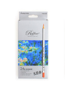 Marco Fine Art Coloured Pencils/ Drawing Pencils for Sketch/ Secret Garden Colouring Book (Not Included) 24-colour