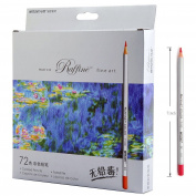 72-colour Raffine Marco Fine Art Coloured Pencils/ Drawing Pencils for Sketch/ Secret Garden Colouring Book (Not Included) 100% New