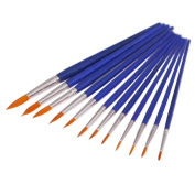 Gilroy 12x watercolour Painting Round Tip Nylon Hair Paint Brush Sets