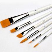 Academyus 6x Set Acrylic Oil Painting Artist Paintbrush Brushes Sets