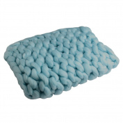 Padoora Newborn Acrylic Wool Knitted Sleep Blanket Photography Props 40 x 60cm