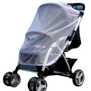 SORCO Cute Infants Baby Safe Mesh Stroller Pushchair Full Cover Mosquito Insect Net Decorative border Net