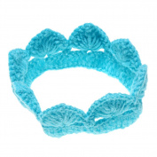Little Kiddo Infant Newborn Baby Hand-made Knit Crochet Headband Photography Accessory Prop