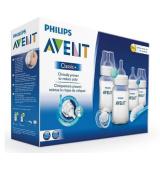 Philips Avent SCD371 Starter Set Classic + Newborn Bottle Kit PBA FREE