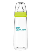 Easycare PP Standard Calibre 240mL Nursing Bottle Flow Rates in The Circular Hole Pacifier Moderate