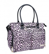 Jessica Simpson City Tote Nappy Bag in Leopard