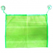 Holly Store Waterproof Mesh Cloth Kids Shower Toy Storage Bag Green