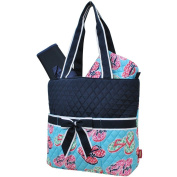 Flip Flop Summer Sandals Print NGIL Quilted 3pc set Nappy Bag