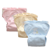 JN & LuLu Anti Side Leakage Comfortable Breathable Cotton Nappy